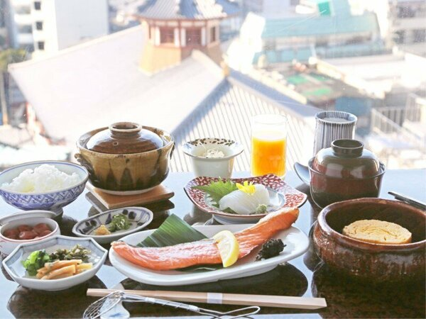 *【ご朝食一例】拘りの食材を用いた和朝食をご用意いたします。