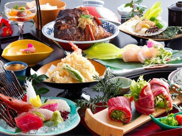 ~お手軽会席【凪 NAGI】~ 日本海の幸と鳥取県産牛を味わう。十分ご満足いただけるお手軽会席