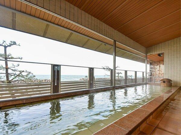 *【大浴場(女湯)】天然温泉を賛沢にかけ流しです!