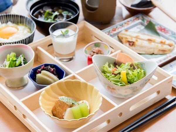 *【朝食】素材を吟味した料理長こだわりの和朝食