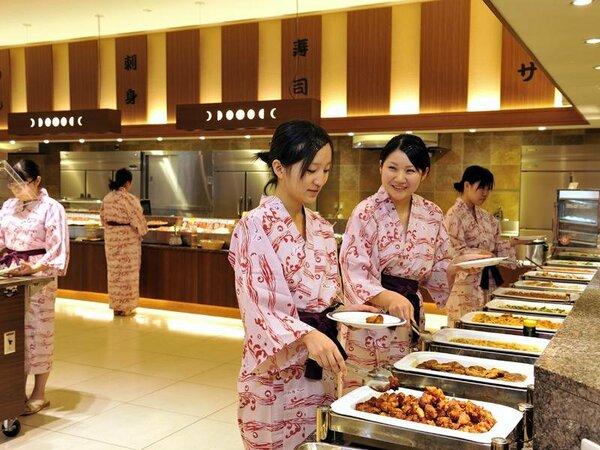 ライブキッチン「デリシャス」(夕食バイキング)洋食コーナー
