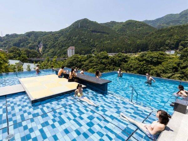 *【おぷ~ろ(イメージ)】温泉を水着でプール感覚で楽しめる新感覚の温浴施設が誕生!