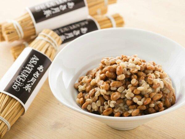 栃木県産大豆で作った藁納豆