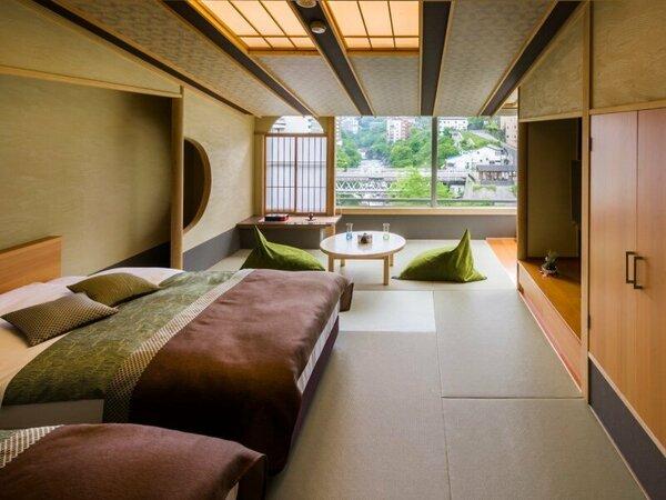 ■リニューアル洋室 10畳 渓谷側:【リニューアルコンセプトルーム洋室】一例