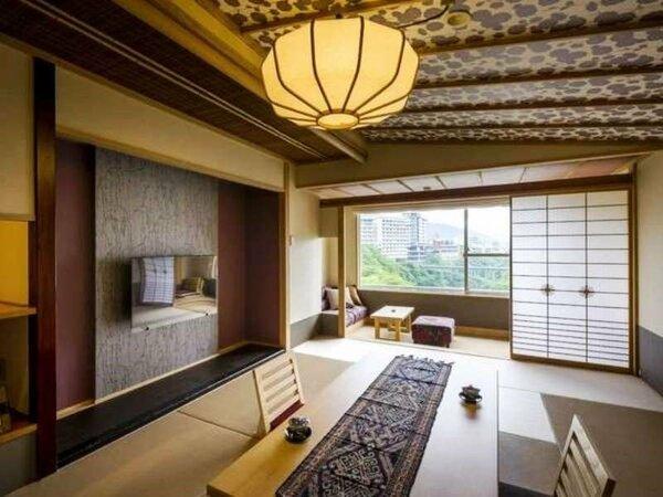 ■7階:リニューアル和室タイプ 10畳 渓谷側 一例
