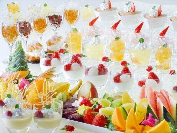 ◆夕食バイキング◆お子様や女性に大人気、デザート(イメージ)