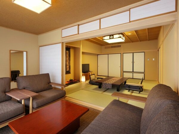 ◆客室◆八番館ベッド付き和室(一例)