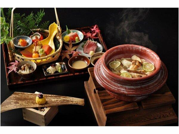 季節の会席:栃木の里山を感じさせる上質な会席料理をご用意しております。