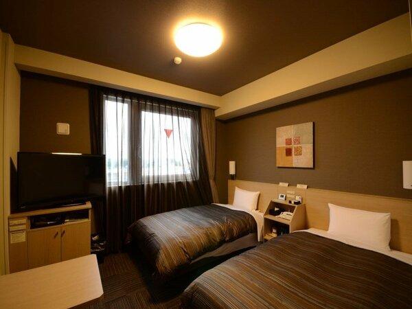 【スタンダードツインルーム】ベッドサイズ110×200(cm)◆加湿機能付き空気清浄機完備