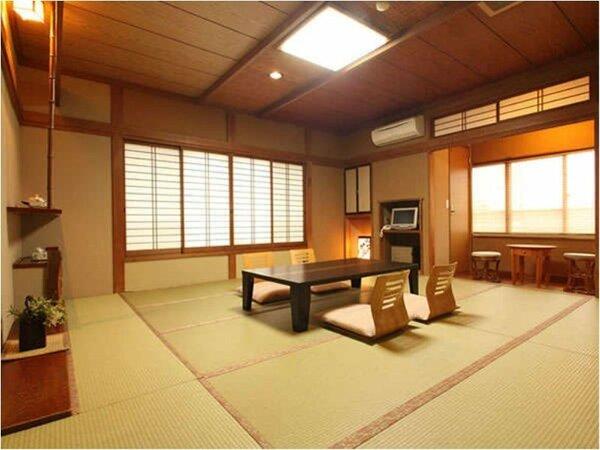 【和室12畳トイレ付】磯部温泉が見渡せる眺望の良いお部屋