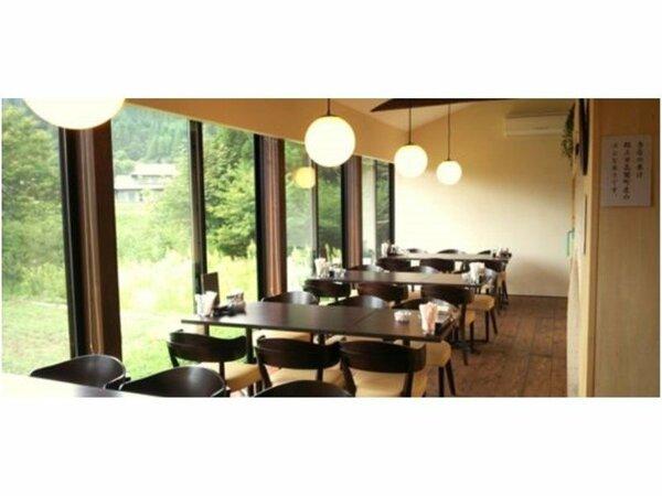 【Cafeこざえもん】お食事場所になります。