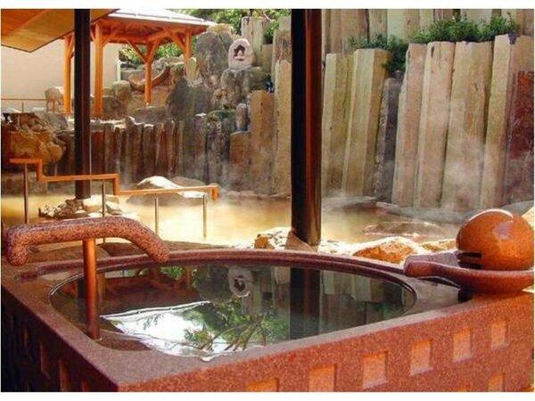 「千遊」 露天水風呂
