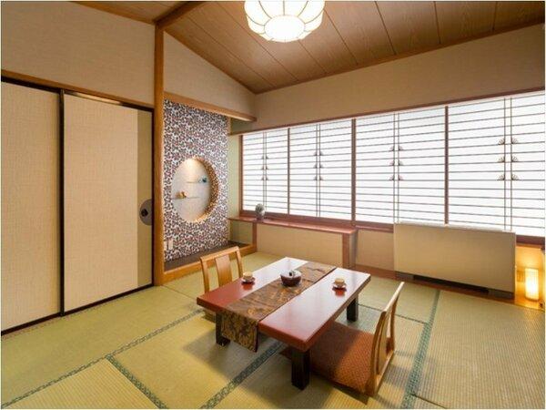 ◆和室8帖◆落ち着いた和モダンなお部屋で羽を伸ばしておくつろぎいただけます♪
