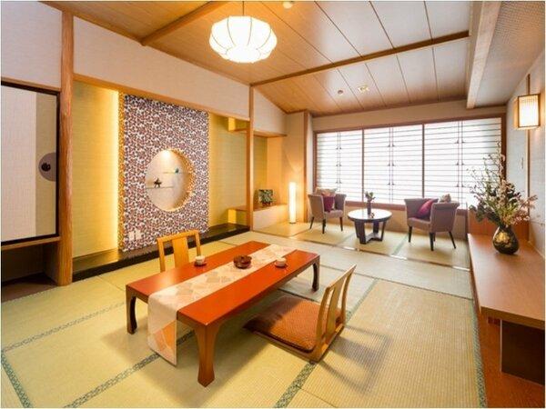 ◆和室12帖◆グループ旅行や三世帯のご家族でのご利用など♪「お部屋を分けたくない!」ご要望にピッタリ