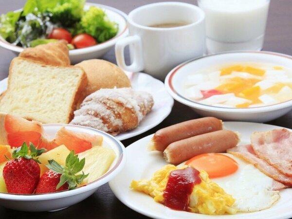 朝食バイキング・料理一例