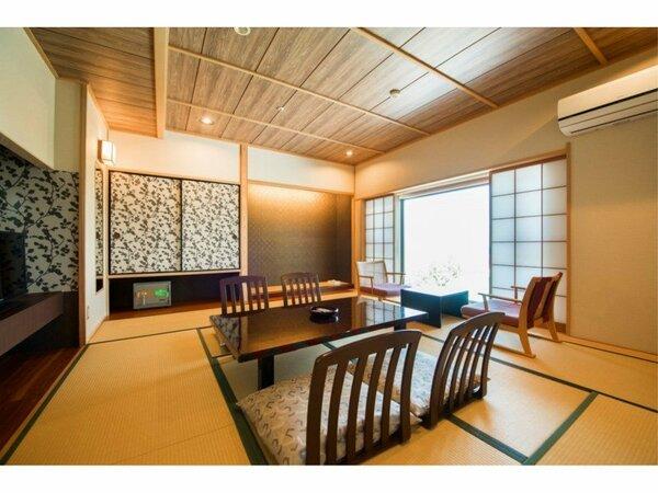 標準タイプの10畳和室【禁煙室】です。