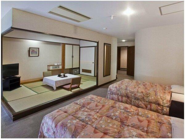 和洋室Bタイプ TW+7畳 48平米/シャワー室/ 「和」と「洋」の広々としたお部屋