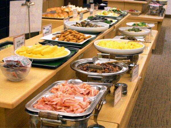 鹿児島ならではの地元食材を盛込んだ和洋バイキング[レストラン 7:00~9:00]