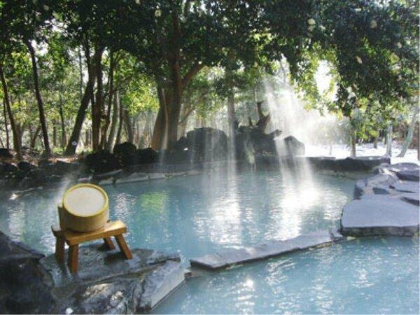 貸切露天風呂「木漏れ日の赤松の湯」イメージ