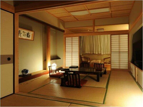 高千穂館和室2間(8畳+6畳)の一例