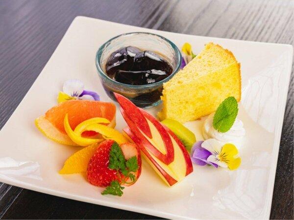 【レディース/デザートプレート】夕食時のデザートをグレードアップ!お得な特典満載♪(写真はイメージ)