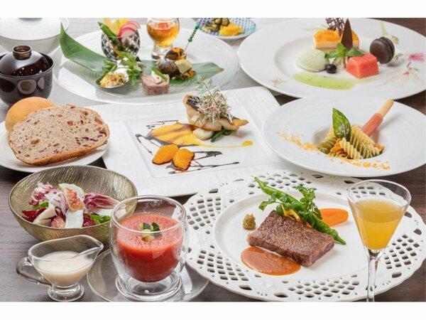 【夕食】洋食コース一例