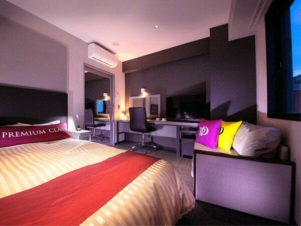 『Premium class』◆ソファダブル◆-ダブルルームに2人掛けソファをプラス♪