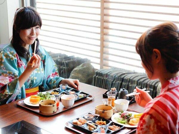 【朝食ビュッフェ】美味しい朝食を食べれば今日も1日楽しく過ごせます。