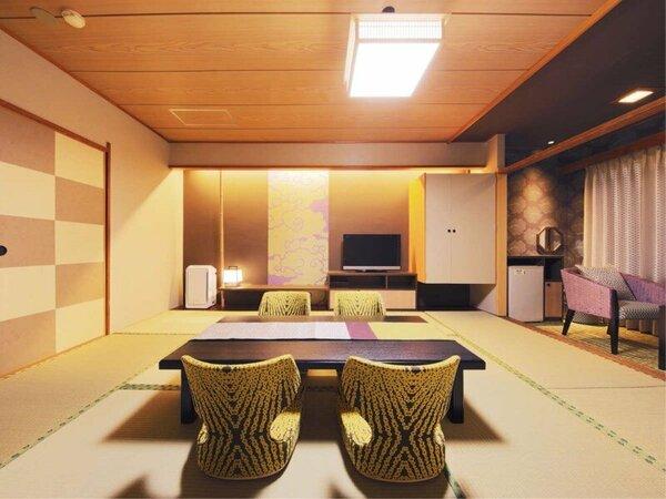 【モデレート和室】華雲。モダン&クラシックなリニューアルルームです。