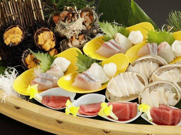 鮮魚7種舟盛