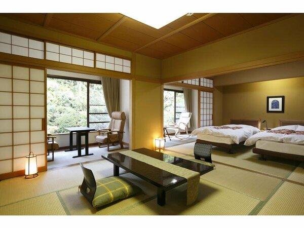 大泉閣・和室ベッド(一例)