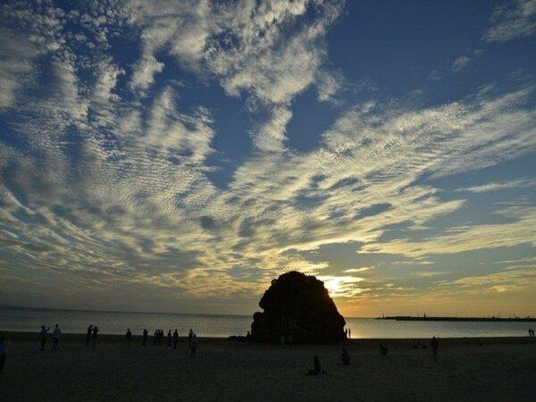 【稲佐の浜】徒歩20分 / 車で3分