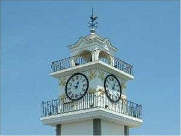 ■松江のランドマーク■別館屋上の時計台