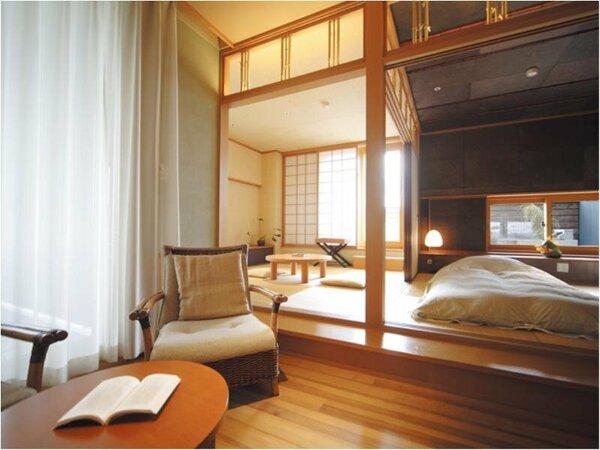 露天風呂付特別室一例