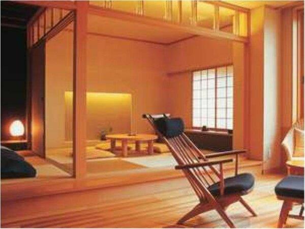 和室の一例です。ゴロリと横になれば琉球畳のさらりとした心地よさを背中いっぱいに感じることができます。