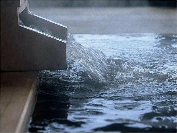 """【美人の湯 モール温泉】日本でも珍しい""""モールの湯""""。世界でも希少な泉質です"""