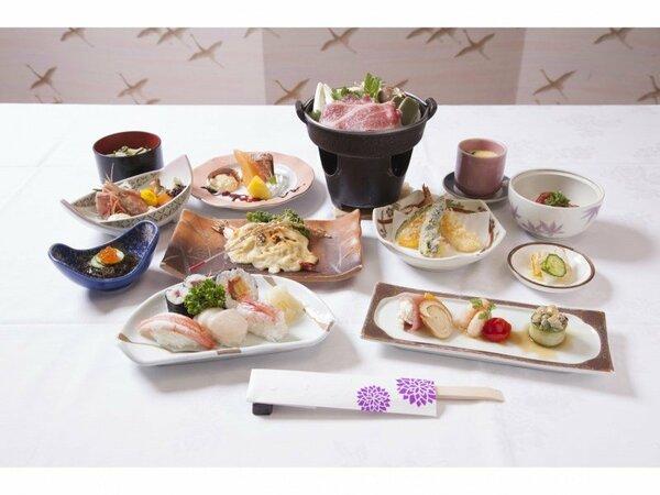 寿司・すき焼き