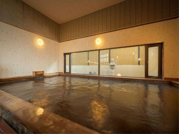【モール温泉大浴場】桧風呂