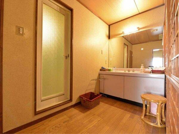 *新館・緑水亭(和室10~12畳)/洗面