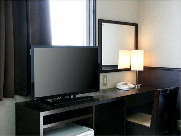 32~40インチの大型テレビ全室リニューアル