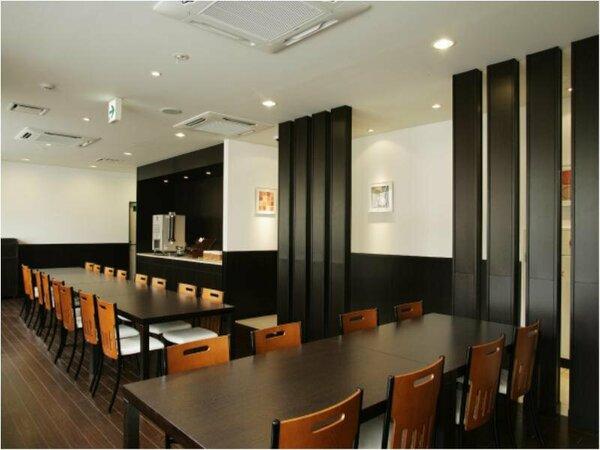 [朝食・夕食コーナー] 朝食 6:30~9:00 夕食 18:30~20:30