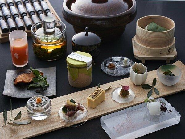 和彩膳所「樂味」(らくみ)朝食一例