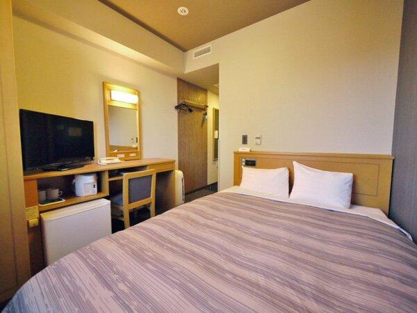 【セミダブル】ベッドサイズ140×200(cm)全室無料Wi-Fi&加湿機能付空気清浄器完備