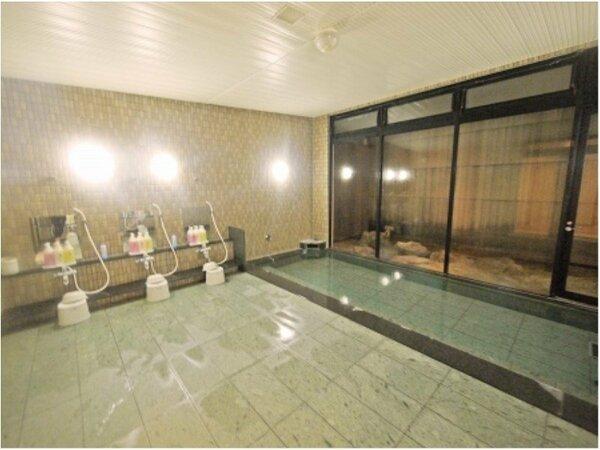 ラジウム人工温泉大浴場「旅人の湯」男女別 入浴条件15:00から2:00、5:00から10:00