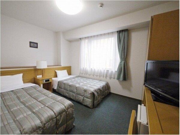 【ツイン】ベッドサイズ110×200(cm) 全室無料Wi-Fi&加湿機能付空気清浄器完備
