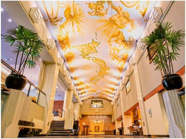 ロビー天井画Lobby Ceiling Wall