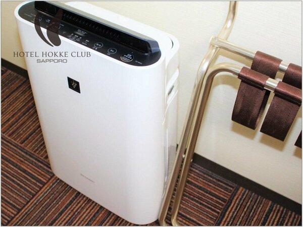 【客室備品】加湿付空気清浄機