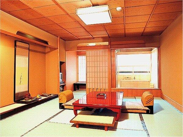 秋桜(海側 露天風呂付客室10畳) 一例