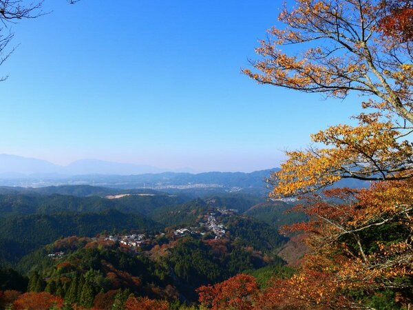 いざ、紅葉の吉野山へ!