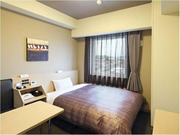 シングルルーム:無料Wi-Fi、加湿機能付空気清浄機、液晶TV完備!